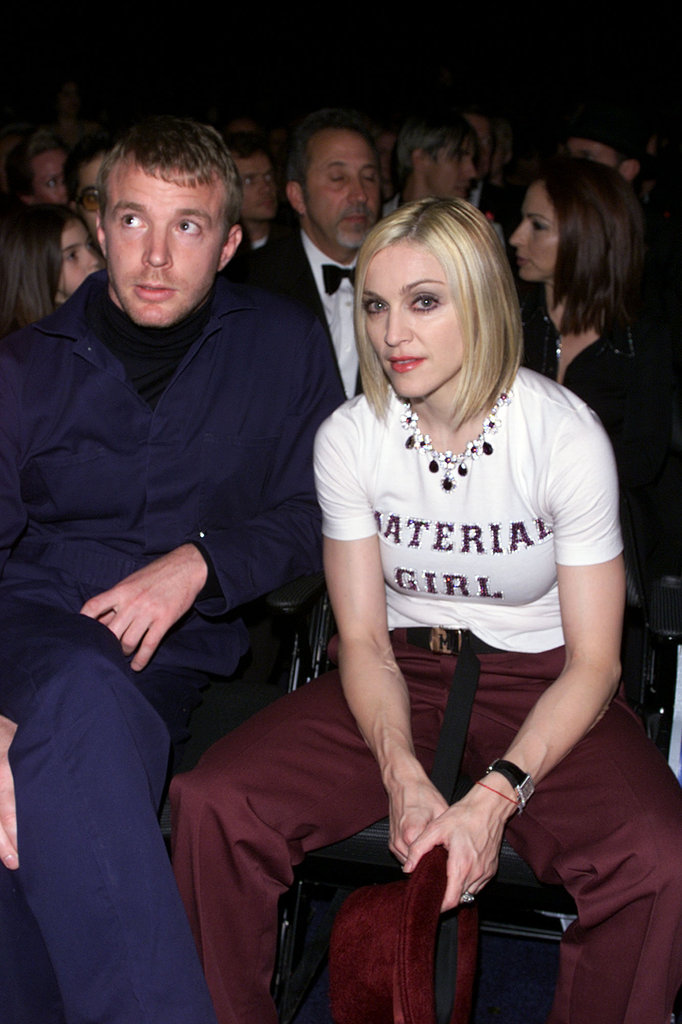 Guy Ritchie and Madonna, 2001
