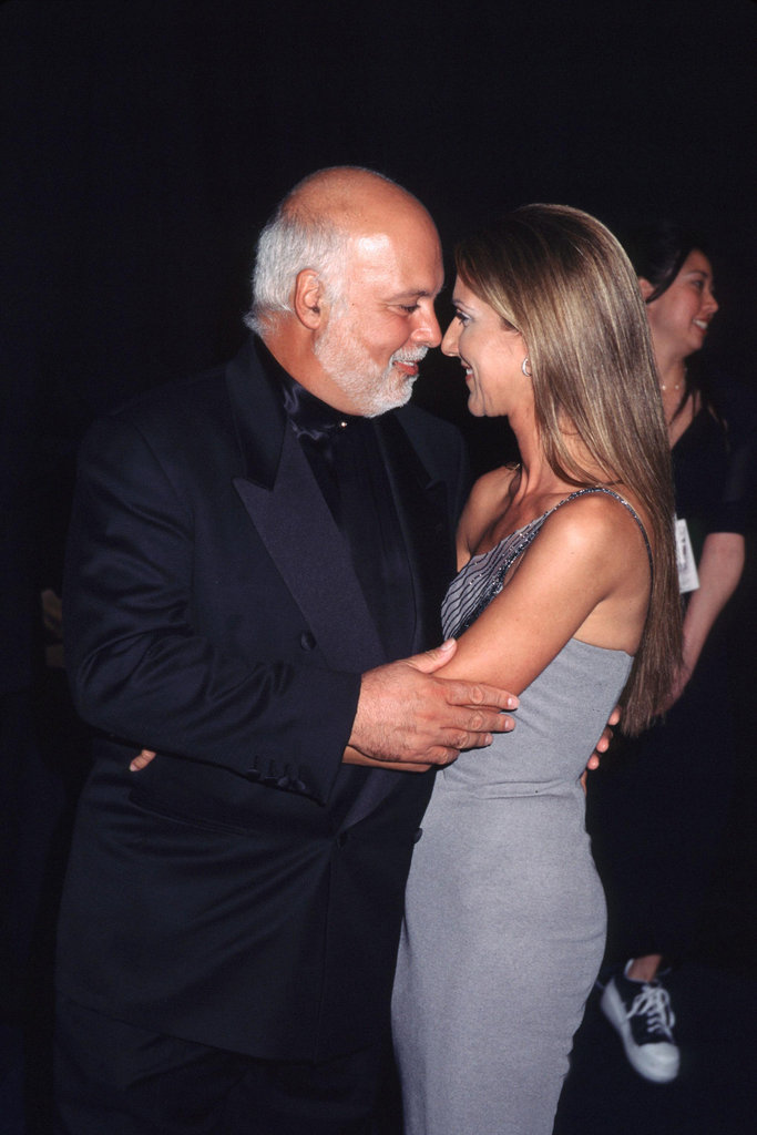 René Angélil and Celine Dion, 1999