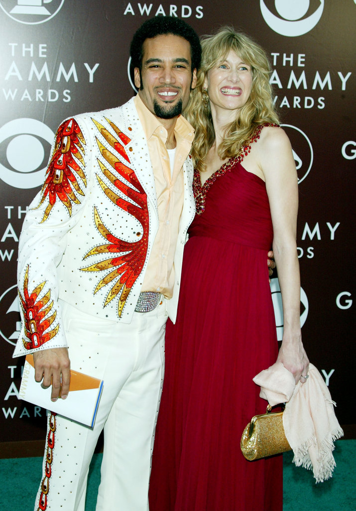 Ben Harper and Laura Dern, 2005