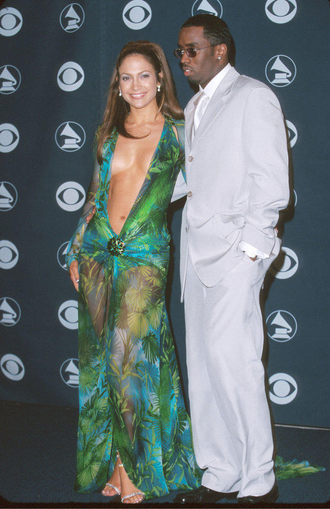 "Jennifer Lopez and Sean ""Diddy"" Combs, 2000"