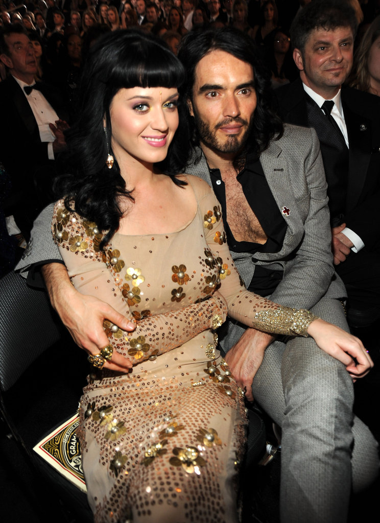Katy Perry and Russell Brand, 2010
