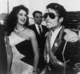 Brooke Shields and Michael Jackson, 1984