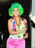 Never one to shy away from color, Nicki had heads turning while visiting Japan in 2012.