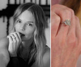 Kate Bosworth debuted her diamond from fiancé Michael Polish in September. Source: Kate Bosworth on WhoSay and Getty