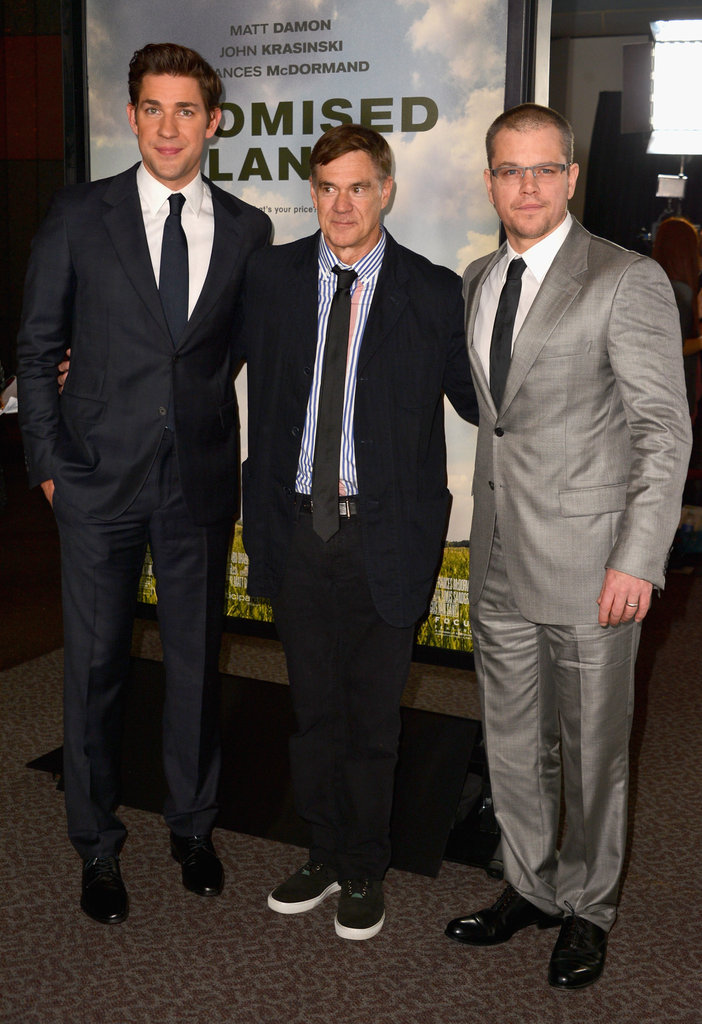 Matt Damon Pairs Up With Wife Luciana and Pal John Krasinski in LA