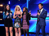 Britney Spears and Demi Lovato Send Home 2 More X Factor Hopefuls