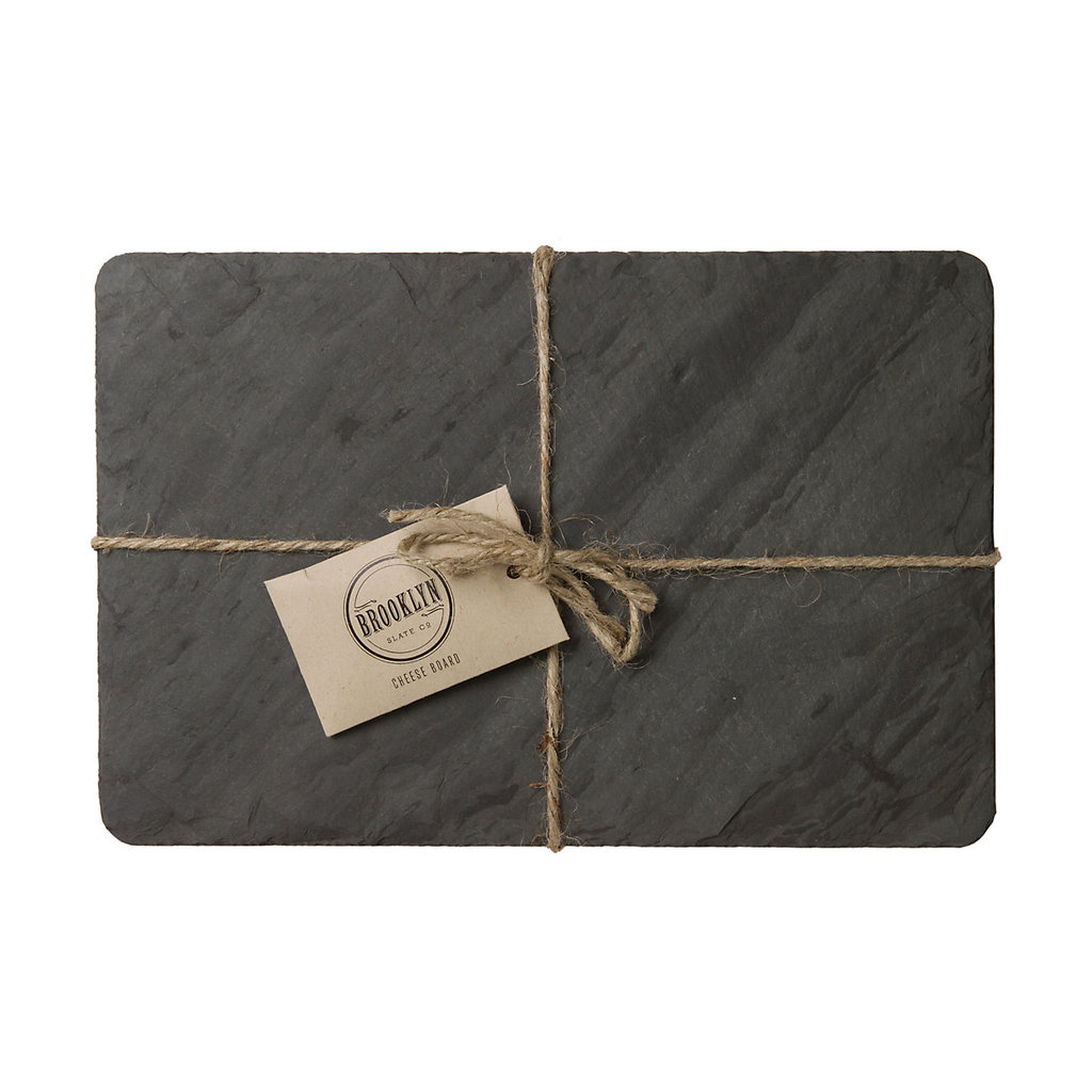 Slate cheese boards make a beautiful hostess gift, and Terrain's Slate Cheese Board ($40) comes with a soapstone pencil for marking your delicacies as people taste.