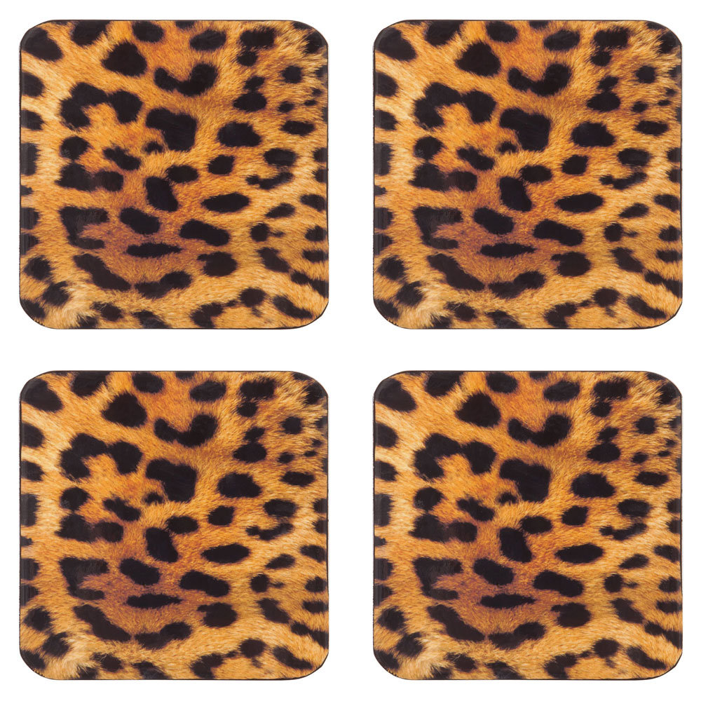 Who doesn't need coasters? Bring along these Zara Home Leopardo Coasters ($17) with a bottle of wine or whiskey.