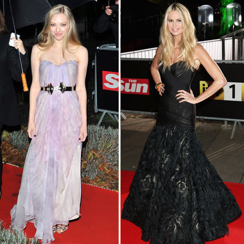 Amanda Seyfried at Sun Military Awards in Alexander McQueen