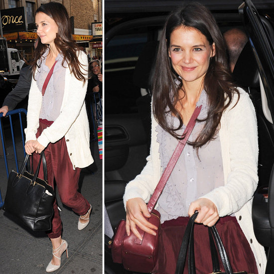 How chic are Katie Holmes's pants? Get the look for yourself!