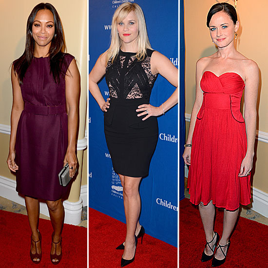 Zoe, Reese, and More Get Glam For a Good Cause — Who's Most Fab?