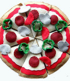 The Crafty Button UK Felt Pizza