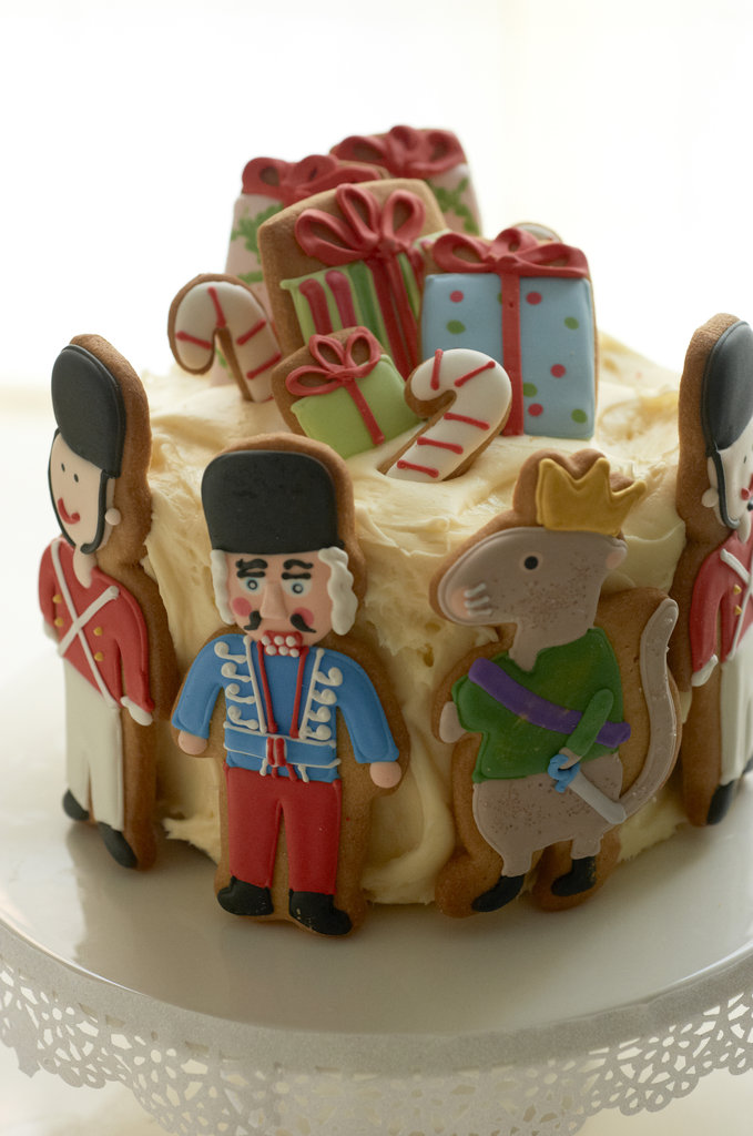 An Adorable Nutcracker Cookie Cake