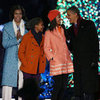 Obamas at National Tree Lighting