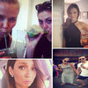 Celeb Instagram: Lara Bingle, Phoebe Tonkin, Miranda Kerr.
