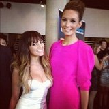 "Samantha Jade and Rikki-Lee caught up backstage at the ARIAs and posted this pic to Instagram a few days later, saying she was having a ""fan girl moment"". Source: Instagram user samantha_jade_music"