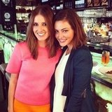 Kate Waterhouse and Phoebe Tonkin met up for lunch and an interview. Source: Instagram user katewaterhouse7