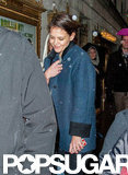Katie Holmes stepped out in NYC.