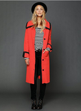 We love the bright hue and lean silhouette on Free People's New Romantics long sweater coat ($248).