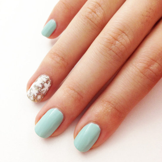 ... nails with a festive snowflake accent nail while you can deck out all