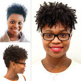 Learn a Cool Holiday Updo For Natural Hair