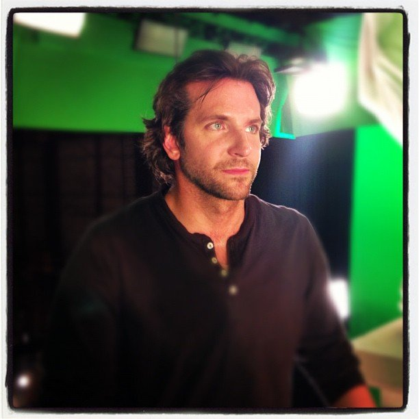 Bradley Cooper is back on set as Phil in The Hangover Part III. Source: Instagram user toddphillips1