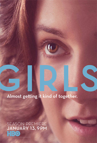 The poster for Girls' second season.