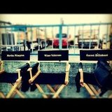 Wilmer Valderrama shared his personalized seat on the set of Raising Hope. Source: Instagram user Wilmer Valderrama
