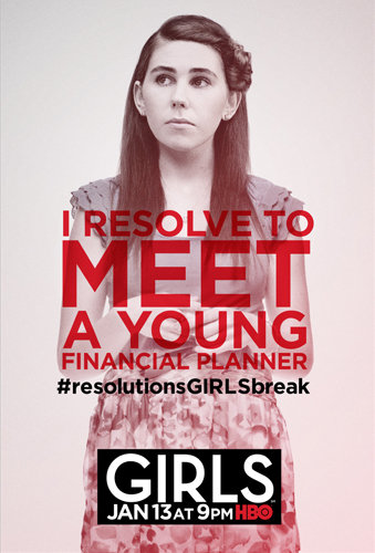 Shoshanna's character poster for Girls.