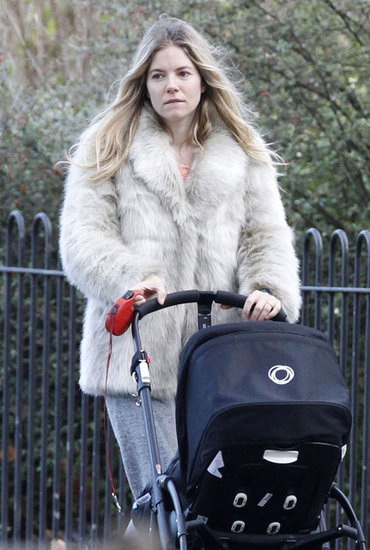Sienna Miller was out in London.