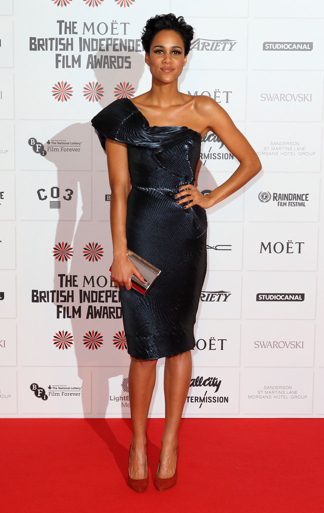 Zawe Ashton made an appearance at the BIFAs.
