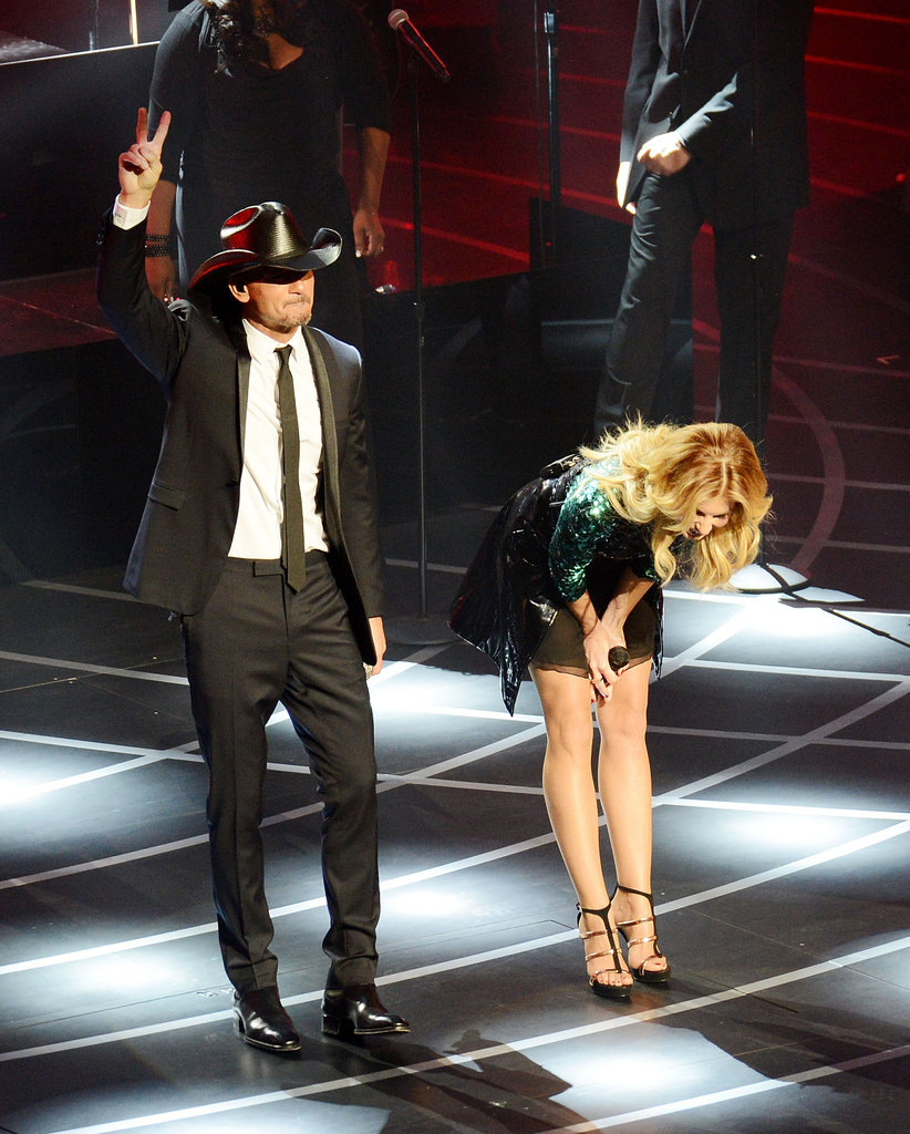 Faith Hill and Tim McGraw opened their new Venetian show.
