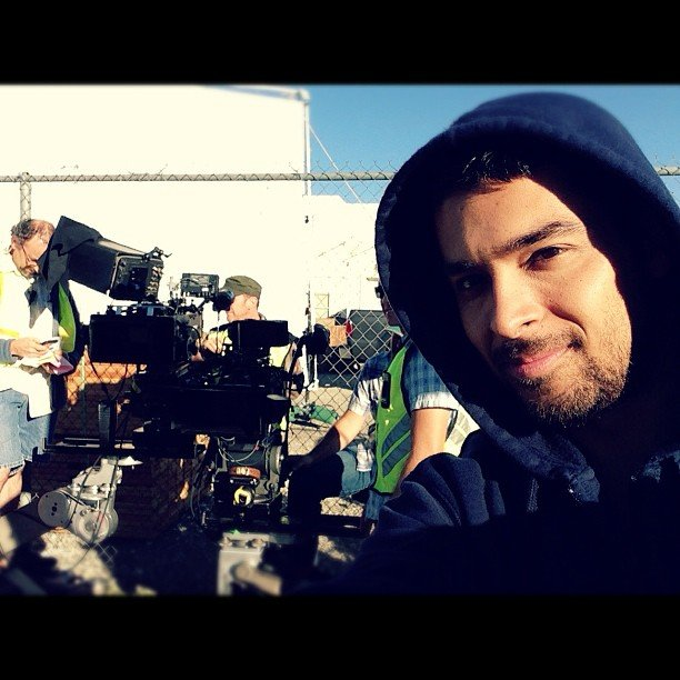 Wilmer Valderrama shared an on-set snap. Source: Instagram user wilmervalderrama