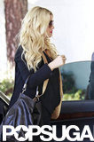 Jessica Simpson shopped with friend Cacee Cobb in Beverly Hills.