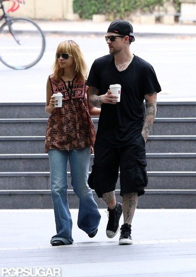 Nicole Richie and Joel Madden Start Their Weekend in Sydney