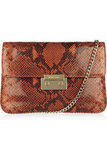 This Michael Michael Kors Sloan python-effect glossed-leather clutch ($66, originally $220) would make the perfect gift for your fashion friend.