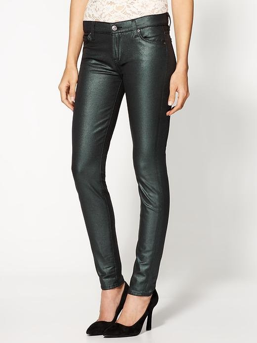 Put a slick (coated) twist on your denim situation by way of 7 For All Mankind's The Skinny jeans ($119, originally $198). We love that you can have your leather-inspired finish with a funkier spin . . . a win-win, in our opinion.