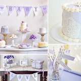 "Baby Showers: A Lovely Lavender ""Baby Love"" Shower"