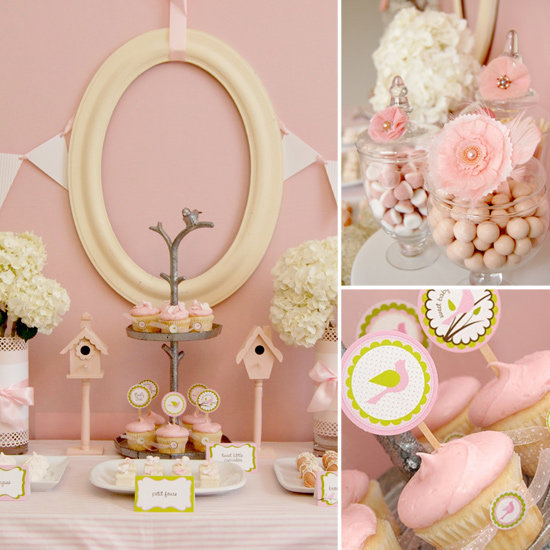 Little Pink Birdies Baby Shower