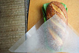 Making a Travel-Ready Sandwich