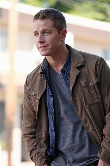 What does Josh Dallas look for when he opens a script?