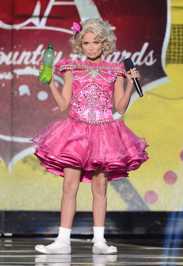 Kristin Chenoweth showed off her best Honey Boo Boo impression.