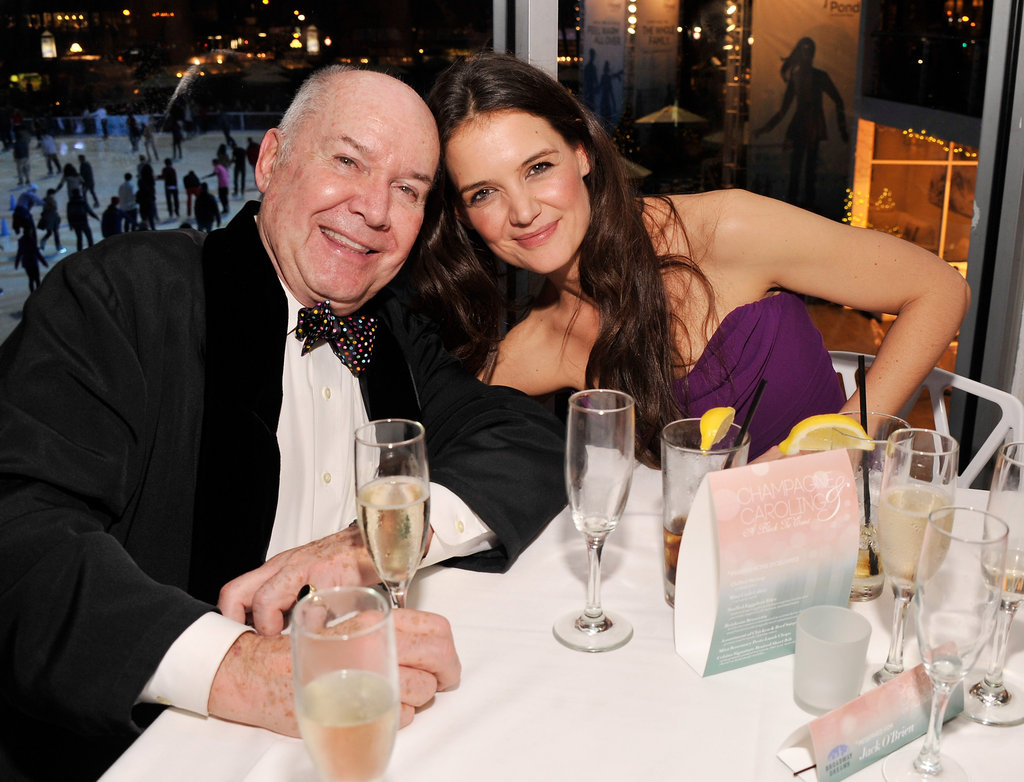 Katie Holmes attended the Broadway Dreams Foundation Gala in NYC.