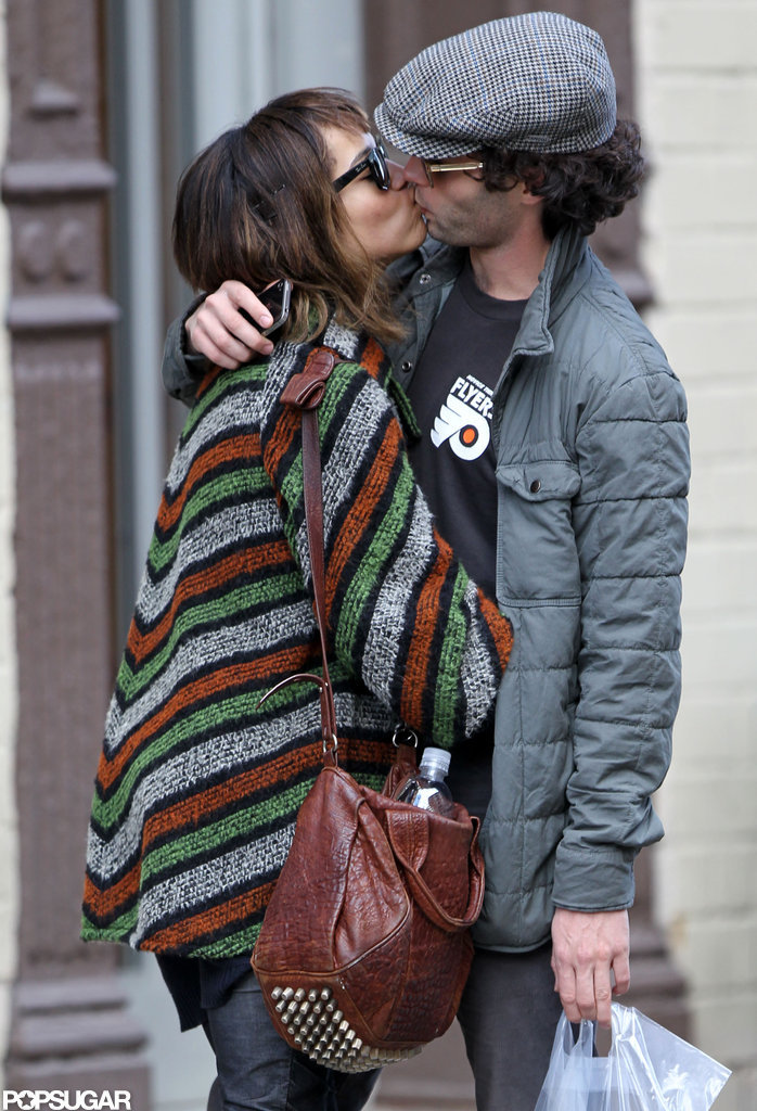 Penn Badgley and Zoe Kravitz took their romance to the NYC streets in January.