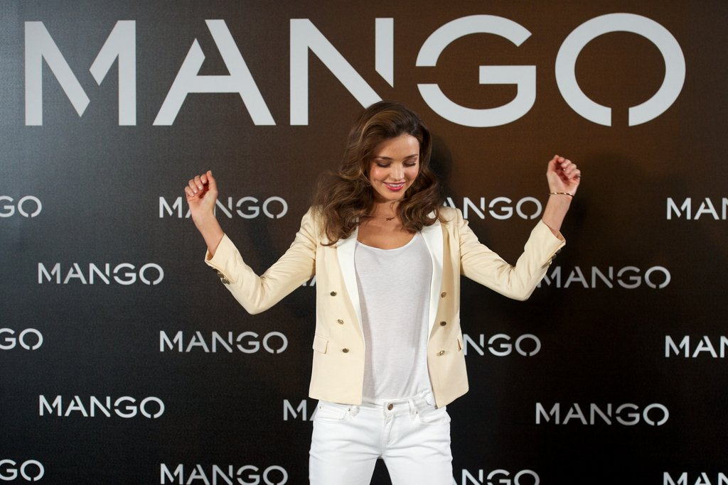 Miranda Kerr was out in Madrid.