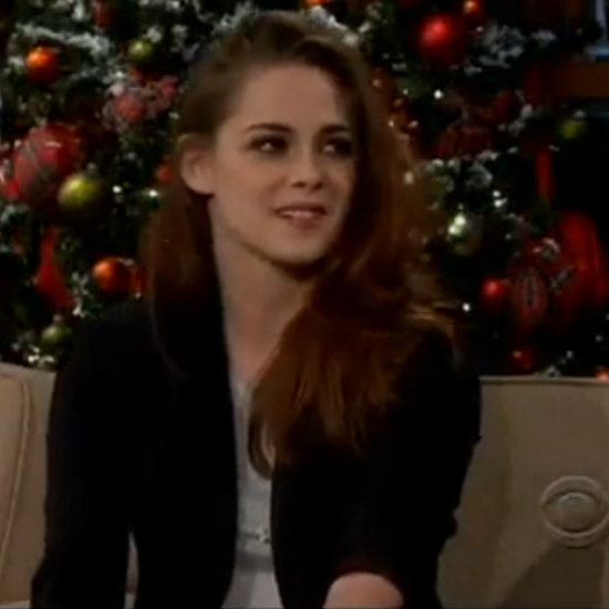 Kristen Stewart Interview on The Late Late Show