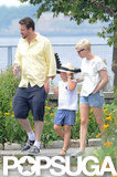 I certainly didn't expect that Jason Segel and Michelle Williams would make such an attractive couple — or that he'd be so adorable with her daughter, Matilda. I loved this photo because it shows Jason, Michelle, and Matilda enjoying a quintessential Brooklyn day as a family.  — Allie Merriam, editor