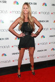 Elle Macpherson showed her eternal hotness in a black minidress in March.