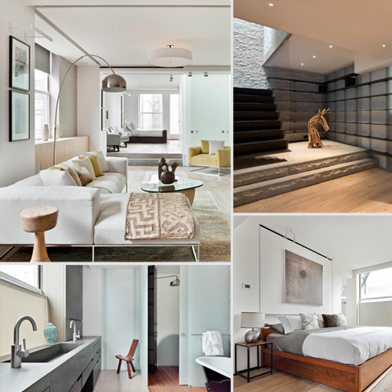 Anderson Cooper listed his sleek midtown Manhattan loft for $3.75 million.  Source: Douglas Elliman Real Estate