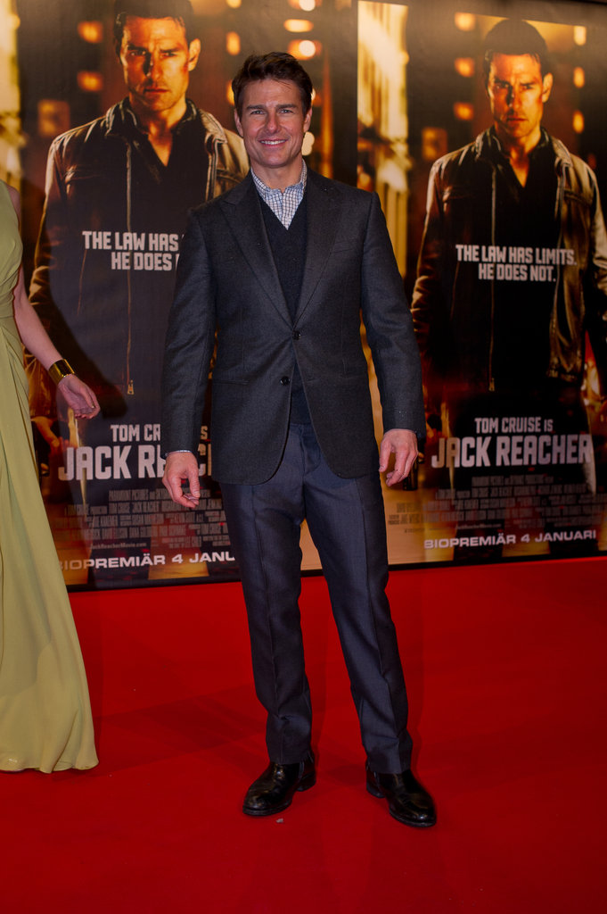 Tom Cruise attended the Stockholm premiere.